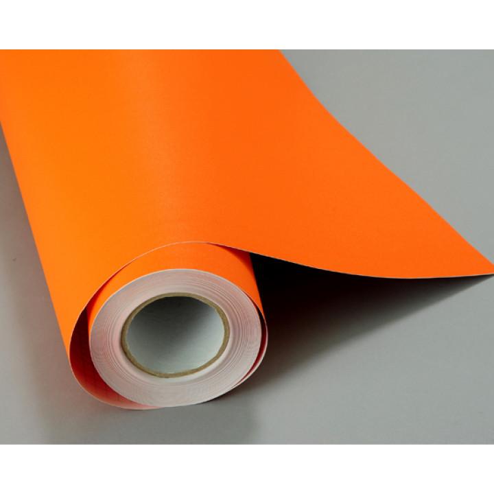 Структурная пленка алмазная крошка оранжевого цвета (Soulide) #5006