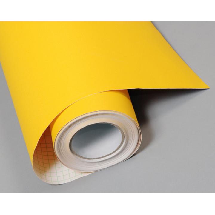 Структурная пленка алмазная крошка желтого цвета (Soulide) #5008
