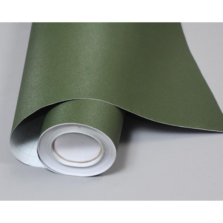 Структурная пленка алмазная крошка зеленого цвета (Soulide) #5009