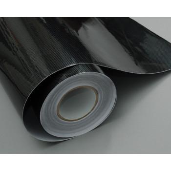 Пленка под карбон 2d серочерный квадратный 1.27м #8007