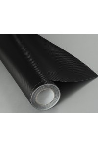 Пленка под карбон 3d черная (мелкая текстура) #1002