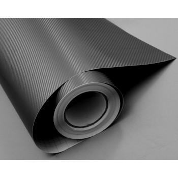 Пленка под карбон 3d темно-серая (графит), 1.52м #1003
