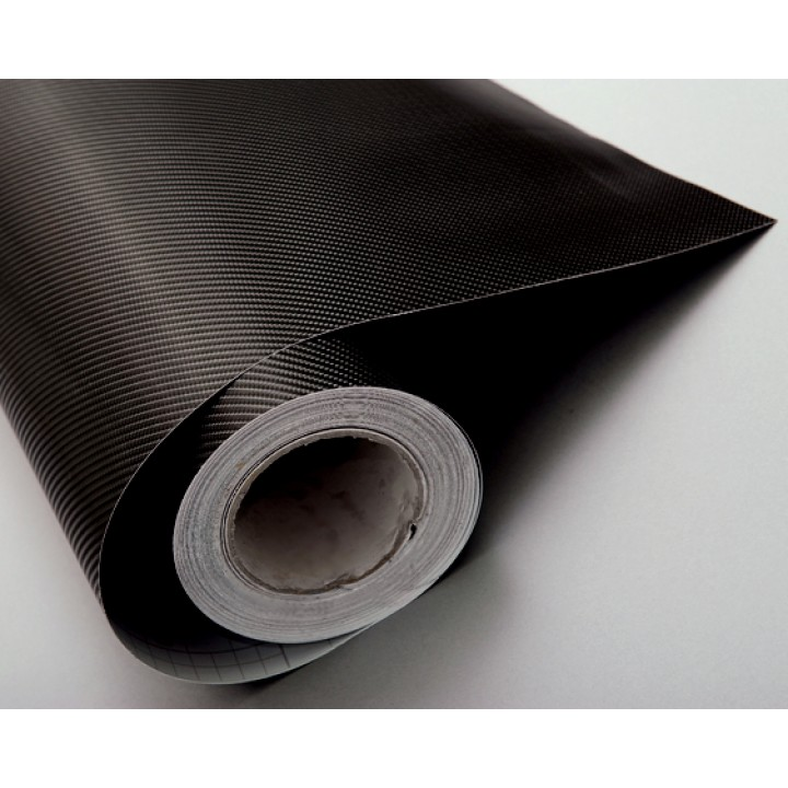 Пленка под карбон 4d черная (Soulide) #8051