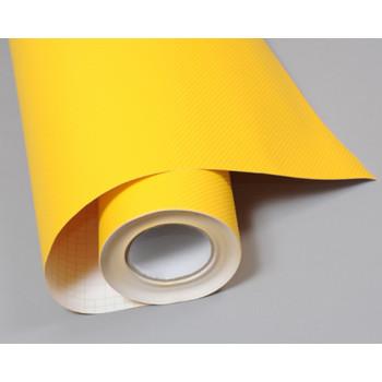 Пленка под карбон 4d желтая (Soulide) #8055