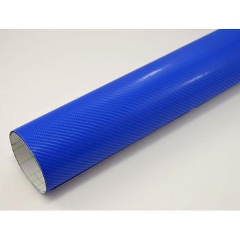 Пленка под карбон 4d синяя (Soulide) #8059