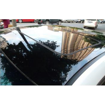Глянцевая пленка черного цвета (крыша под панораму) 1.52м #8032