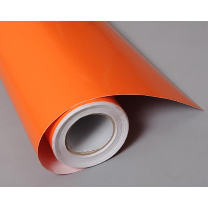 Глянцевая пленка оранжевая #8047