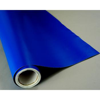 Матовая пленка синего цвета #7015
