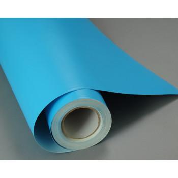 Матовая пленка голубого цвета #7016