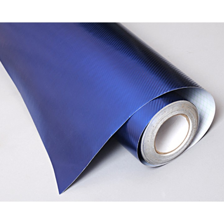 Пленка хром карбон blue #3005