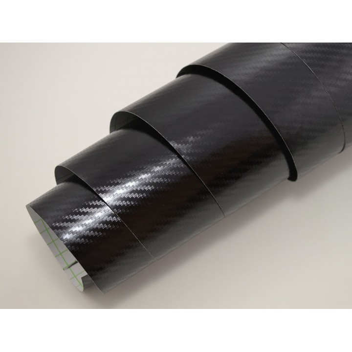 Пленка хром карбон черная #3011