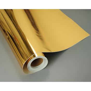 Глянцевая зеркальная пленка gold (золото) #8035
