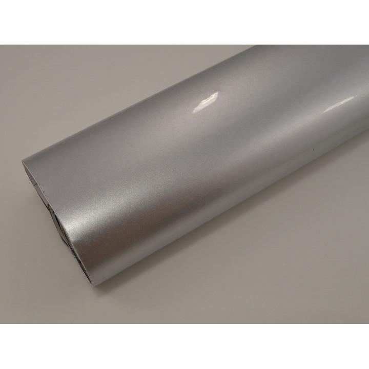 Глянцевая пленка серебристый металлик (Soulide) #6052