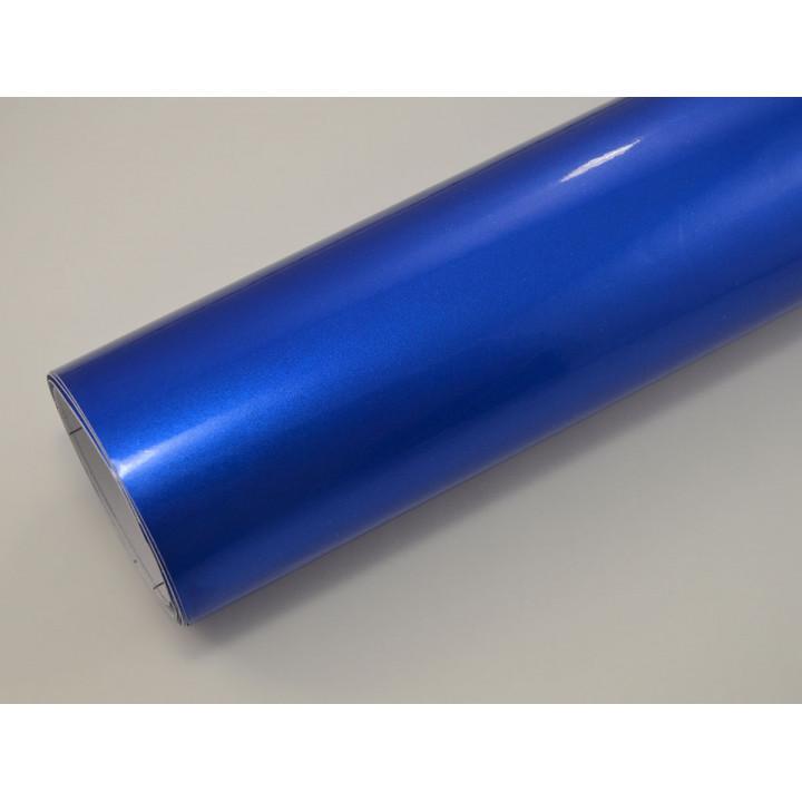 Глянцевая пленка синий металлик (Soulide) #6054