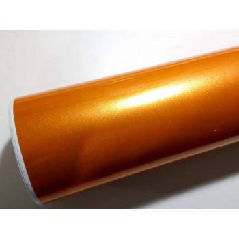 Глянцевая пленка оранжевый металлик (Soulide) #6057