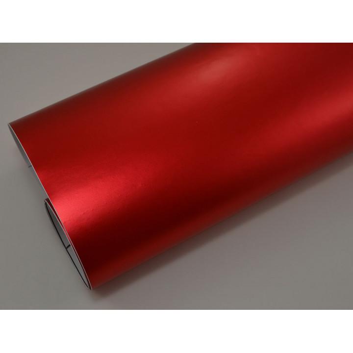 Матовая пленка красный металлик (Soulide) #7055