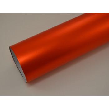 Матовая пленка оранжевый металлик (Soulide) #7057