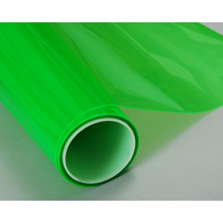Тонировочная пленка для оптики авто Vissbon (цвет: зеленый) 0.3м #9005