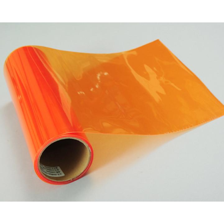 Тонировочная пленка для оптики авто Vissbon (цвет: оранжевый) 0.3м #9013