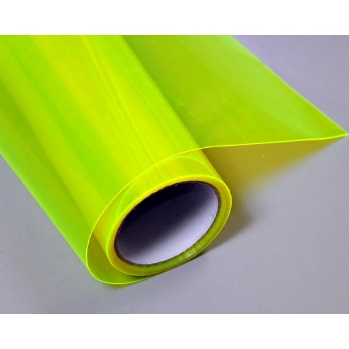 Тонировочная пленка для оптики авто Vissbon (цвет: неоново желтый) 0.4м #9016