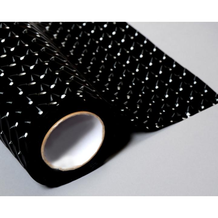 Тонировочная пленка для оптики 4d Cat Eyes черная 0.3м #9044
