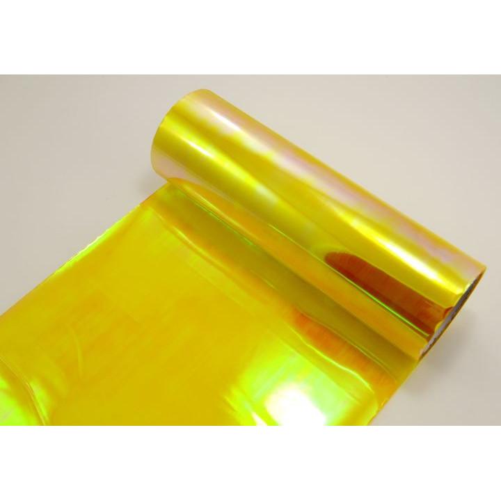 Пленка хамелеон для тонировки фар желтая 0.4м #9052