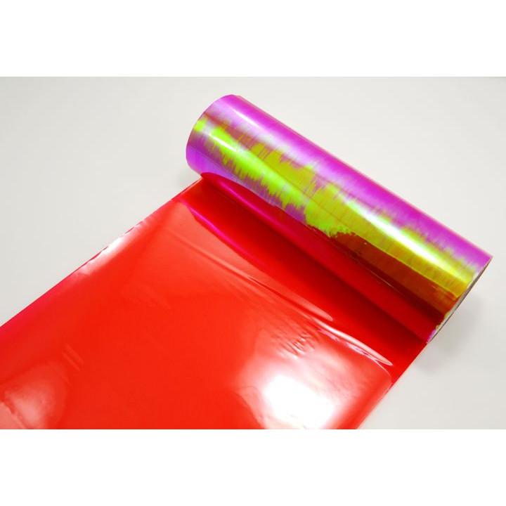 Пленка хамелеон для тонировки фар красная 0.4м #9053