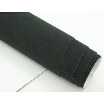 Самоклеющаяся алькантара черная (Soulide) #5051