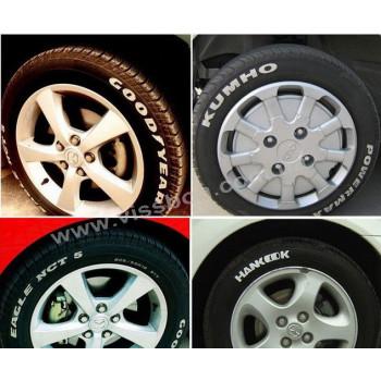 Маркер для шин (колес) серый
